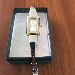 Nine West Silver/ Gold Watch